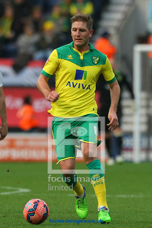 Michael Turner of Norwich in action during the FA Cup match at Deepdale, Preston<br /> Picture by Paul Chesterton/Focus Images Ltd +44 7904 640267<br /> 03/01/2015