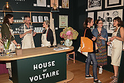 JAMES ST. FINDLAY, PABLO BRONSTEIN,  ELISE HARRISON, Evening preview of House of Voltaire.  A pop-up store selling artworks. homewares and limited edition prints. 31 Cork st. London W1S 3NU. 25 September 2019