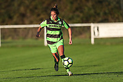 Forest Green Rovers Kayla Garland(11) runs forward during the South West Womens Premier League match between Forest Greeen Rovers Ladies and Marine Academy Plymouth LFC at Slimbridge FC, United Kingdom on 5 November 2017. Photo by Shane Healey.