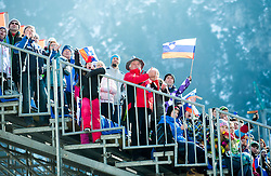 Supporters during the Ski Flying Individual Qualification at Day 1 of FIS World Cup Ski Jumping Final, on March 19, 2015 in Planica, Slovenia. Photo by Vid Ponikvar / Sportida