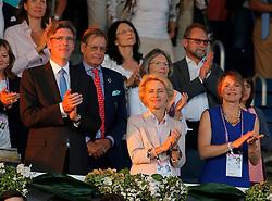 Leyen, Ursula von der (GER), <br /> Aachen - Europameisterschaften 2015<br /> Springen Finale Teamwertung<br /> © www.sportfotos-lafrentz.de/Stefan Lafrentz