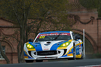 Century Motorsport #111 Ginetta G55 GT4 Anna Walewska/Mike Simpson GT4 Pro/AM during British GT Championship as part of the BRDC British F3/GT Championship Meeting at Oulton Park, Little Budworth, Cheshire, United Kingdom. April 15 2017. World Copyright Peter Taylor/PSP.  Copy of publication required for printed pictures.  Every used picture is fee-liable. http://archive.petertaylor-photographic.co.uk