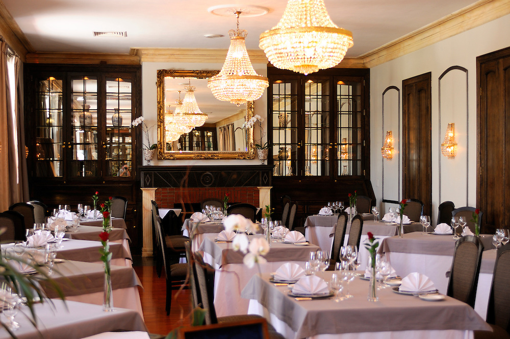 Bosman's Restaurant at Grande Roche Relais & Chateaux Hotel, Paarl, Western Cape, South Africa