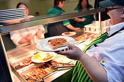 Morrisons supermarket staff canteen UK