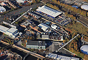 aerial photograph of  Eclipse Works Bradford Pl<br /> Wigan WN3 4HT Wigan Lancashire England UK