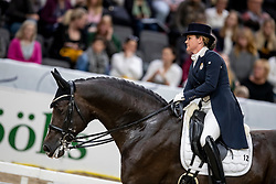 SEYMOUR Tanya (RSA), Ramoneur 6<br /> Göteborg - Gothenburg Horse Show 2019 <br /> FEI Dressage World Cup™ Final I<br /> Int. dressage competition - Grand Prix de Dressage<br /> Longines FEI Jumping World Cup™ Final and FEI Dressage World Cup™ Final<br /> 05. April 2019<br /> © www.sportfotos-lafrentz.de/Stefan Lafrentz