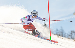 17# Czapska Zuzanna from Poland during the slalom of National Championship of Slovenia 2019, on March 24, 2019, on Krvavec, Slovenia. Photo by Urban Meglic / Sportida