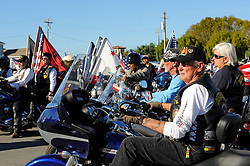 Several motorcycle clubs including the 28th District American Legion Riders participated in Sunday's Monterey County Veteran's Day Parade in Oldtown Salinas.