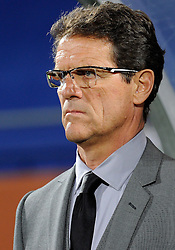 12.06.2010, Royal Bafokeng Stadium, Rustenburg, RSA, FIFA WM 2010, England (ENG) vs USA (USA), im Bild L'allenatore dell'Inghilterra Fabio Capello - Fabio, Capello, England team's coach. EXPA Pictures © 2010, PhotoCredit: EXPA/ InsideFoto/ Giorgio Perottino / SPORTIDA PHOTO AGENCY