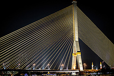 King Rama VIII Bridge, Chao Praya River, Bangkok