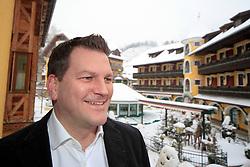 17.01.2013, Schladming, AUT, FIS Weltmeisterschaften Ski Alpin, Schladming 2013, Vorberichte, im Bild Christian Steiner, Hotel Pichlmayrgut (ÖSV-Teamhotel) am 17.01.2013 // Christian Steiner, Hotel Pichlmayrgut (ÖSV-Teamhotel) on 2013/01/17, preview to the FIS Alpine World Ski Championships 2013 at Schladming, Austria on 2013/01/17. EXPA Pictures © 2013, PhotoCredit: EXPA/ Martin Huber