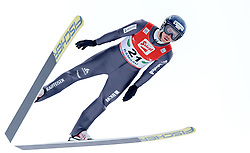 18.12.2016, Nordische Arena, Ramsau, AUT, FIS Weltcup Nordische Kombination, Skisprung, im Bild Tim Hug (SUI) // Tim Hug of Switzerland during Skijumping Competition of FIS Nordic Combined World Cup, at the Nordic Arena in Ramsau, Austria on 2016/12/18. EXPA Pictures © 2016, PhotoCredit: EXPA/ JFK