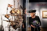 25-11-2016 - AMSTERDAM - Princess Beatrix of the Netherlands is Friday November 25th at The Maritime Museum in Amsterdam available at the Museum Symposium on the occasion of the 100th anniversary of the Dutch Historical Society Maritime Museum. COPYRIGHT ROBIN UTRECHT<br /> <br /> 25-11-2016  - AMSTERDAM - Prinses Beatrix der Nederlanden is vrijdagmiddag 25 november in Het Scheepvaartmuseum in Amsterdam aanwezig bij het Museumsymposium ter gelegenheid van het 100-jarig bestaan van de Vereeniging Nederlandsch Historisch Scheepvaart Museum. COPYRIGHT ROBIN UTRECHT