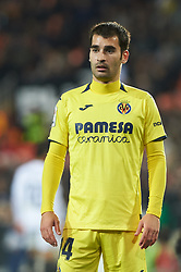 January 26, 2019 - Valencia, Valencia, Spain - Manu Trigueros of Villarreal CF during the La Liga Santander match between Valencia and Villarreal at Mestalla Stadium on Jenuary 26, 2019 in Valencia, Spain. (Credit Image: © Maria Jose Segovia/NurPhoto via ZUMA Press)