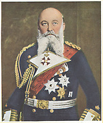 Alfred Friedrich von Turpitz (1849-1930), German naval commander. Appointed Secretary of State of the Imperial German Navy in 1897, he was responsible for building a fleet capable of challenging the British Navy.