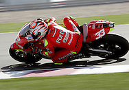 Italy's Marco Melandri, Commercial Bank Grand Prix of Qatar, MOTO GP class, Losail International Circuit, 8 April 2006