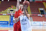 DESCRIZIONE : Skopje torneo internazionale Italia - Polonia<br /> GIOCATORE : Alessandro Gentile<br /> CATEGORIA : nazionale maschile senior A <br /> GARA : Skopje torneo internazionale Italia - Polonia <br /> DATA : 27/07/2014 <br /> AUTORE : Agenzia Ciamillo-Castoria