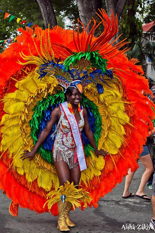 Sheniqua Davis, Fire and Ice Troupe, .  St. John Carnival 2012 © Aisha-Zakiya Boyd