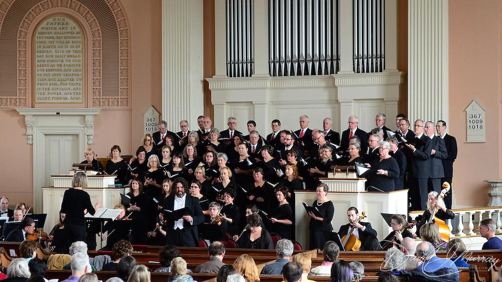 Portsmouth Pro Musica performs Felix Mendelssohn's Elijah, at South Church in Portsmouth NH on April 13, 2014. Priscilla Stevens French, Conductor. Robert Little Field, Accompanist. Bradford Gleim as Elijah.