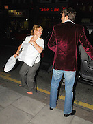 05.09.2006. LONDON<br /> <br /> EXCLUSIVE***<br /> BILLY PIPER (WEARING NO SHOES) AND DAVID TENNANT LEAVE THE DORCHESTER TOGETHER.<br /> <br /> BYLINE: EDBIMAGEARCHIVE.CO.UK<br /> <br /> *THIS IMAGE IS STRICTLY FOR UK NEWSPAPERS AND MAGAZINES ONLY*<br /> *FOR WORLD WIDE SALES AND WEB USE PLEASE CONTACT EDBIMAGEARCHIVE.CO.UK - 0208 954 5968*