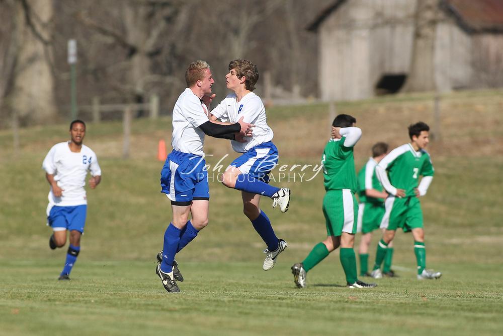 MCHS JV Boys Soccer.vs William Monroe.3/25/2008..
