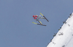 15.03.2019, Vikersundbakken, Vikersund, NOR, FIS Weltcup Skisprung, Raw Air, Vikersund, Qualifikation, Herren, im Bild Richard Freitag (GER) // Richard Freitag of Germany during the men's qualifying of the 4th Stage of the Raw Air Series of FIS Ski Jumping World Cup at the Vikersundbakken in Vikersund, Norway on 2019/03/15. EXPA Pictures © 2019, PhotoCredit: EXPA/ JFK