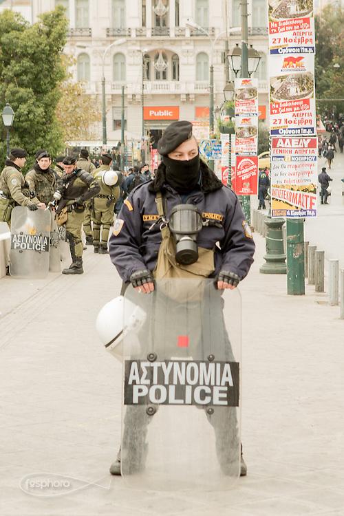 Atene, Dec. 2014 - Grecia: Reaction Era