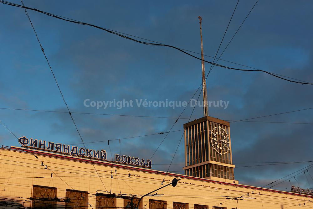 Railway station, St Petersburg, Russia // Gare, St Petersbourg, Russie7
