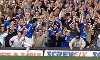 Photo: Paul Greenwood.<br />Everton v Sheffield United. The Barclays Premiership. 21/10/2006. Everton's Mikel Arteta celebrates his opening goal.