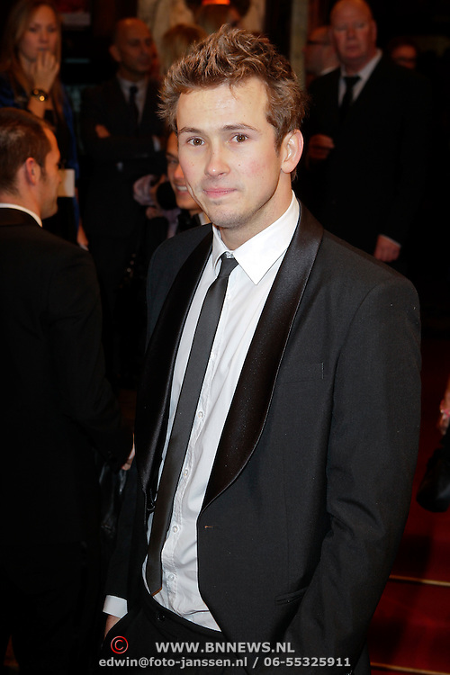NLD/Amsterdam/20111024 - Premiere The Adventures of Tintin, Kevin Hassing, Raynor Arkenbout en Pim Wessels