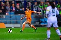 05-04-2019 NED: Netherlands - Mexico, Arnhem<br /> Friendly match in GelreDome Arnhem. Netherlands win 2-0 / Sherida Spitse #8 of The Netherlands