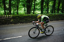 Doris Schweizer (Cylance Pro Cycling) at Aviva Women's Tour 2016 - Stage 3. A 109.6 km road race from Ashbourne to Chesterfield, UK on June 17th 2016.