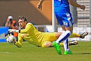 Josh Lillis during the Sky Bet League 1 match between Colchester United and Rochdale at the Weston Homes Community Stadium, Colchester, England on 8 May 2016. Photo by Daniel Youngs.