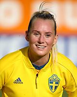 International Women's Friendly Matchs 2019 / <br /> Womens's Algarve Cup Tournament 2019 - <br /> Portugal v Sweden 2-1 ( Municipal Stadium - Albufeira,Portugal ) - <br /> Stina Blackstenius of Sweden