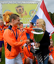 24-08-2014 NED: Medtronic Junior Cup Diabetes, Arnhem<br /> Anita Treiber, Medtronic, Nederland kampioen Junior cup 2014