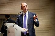 Rome dec 15th 2015, Direzione Investigativa Antimafia (Anti-Mafia Investigations Bureau) annual report. In the picture Angelino Alfano