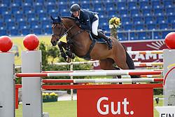 Stevens Mario, (GER), Fairmont E <br /> Sparkassen-Youngsters-Cup<br /> Weltfest des Pferdesports Aachen 2015<br /> © Hippo Foto - Dirk Caremans<br /> 29/05/15