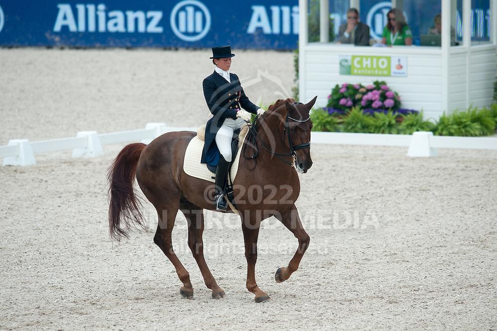 Jeannine Zuber (SUI) & Wesergesit - International CDIO5* Grand Prix - CHIO Rotterdam 2012 - Rotterdam, Netherlands - 20 June 2012