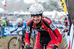 Rocio Gamonal Ferrera (ESP), Women Elite, Cyclo-cross World Championships Tabor, Czech Republic, 31 January 2015, Photo by Pim Nijland / PelotonPhotos.com