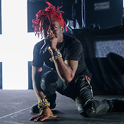 WASHINGTON, DC - December 15th, 2017 - Lil Uzi Vert performs at The Anthem in Washington, D.C.  Hi debut album, Luv Is Rage 2, debuted at number one on the Billboard 200 Albums Chart in August.(Photo by Kyle Gustafson / For The Washington Post)
