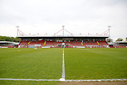Checkatrade.com Stadium before the Sky Bet League 2 match between Crawley Town and Barnet at the Checkatrade.com Stadium, Crawley, England on 7 May 2016. Photo by Andy Walter.