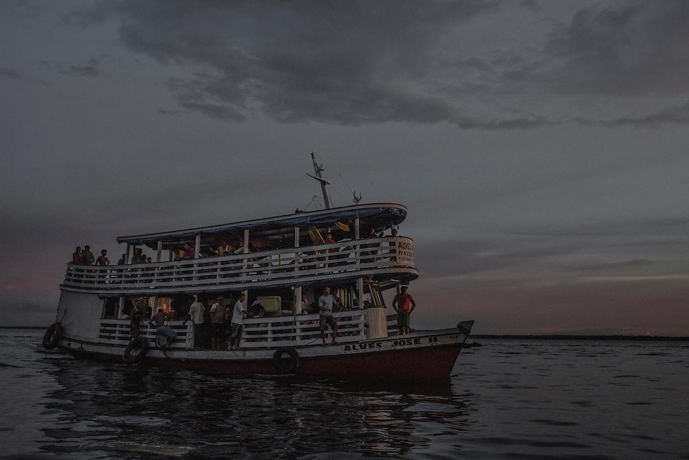 Brazil, Amazonas, rio Negro, Manaus.