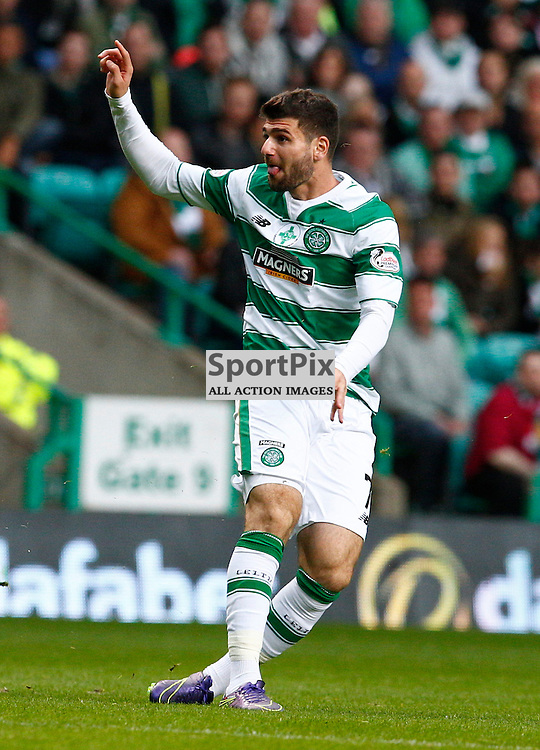 Celtic v Hearts....Nadir Ciftci takes a shot at goal..(c) STEPHEN LAWSON | SportPix.org.uk