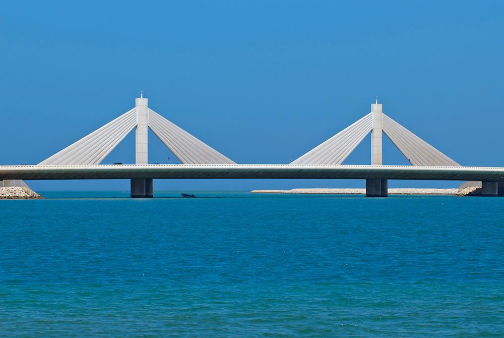 Bahrain, Manama City , Sheikh Isa Causeway Bridge