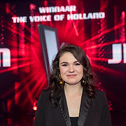 NLD/Hilversum/20180216 - Finale The voice of Holland 2018, Nienke Wijnhoven