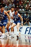 Europei Roma 1991 - Italia vs Grecia - Walter Magnifico e Antonello Riva