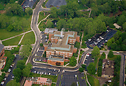 Aerial view of Clippinger Laboratories. © Ohio University