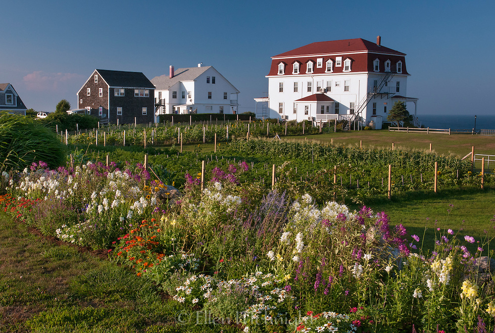 Spring House Annex and Gardens on Block Island, Rhode Island