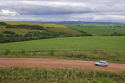 Colheita da soja em uma lavoura do municipio de Camaquã, no Estado do RS. FOTO: Jefferson Bernardes / Preview.com