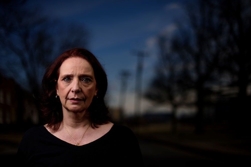 Alexandria, Virginia - January 13, 2017: Maureen Murphy, from Alexandria, Va., is a freelance producer, and a stroke survivor. Her strokes were caused by a blood clotting and auto-immune disorder Antiphosphiolipid syndrome with anticardio lipid antibodies, a pre-existing condition which can be deadly if untreated. Before the Affordable Care Act, she struggled to afford proper treatment. <br /> <br /> <br /> CREDIT: Matt Roth for The New York Times<br /> Assignment ID: 30201179B